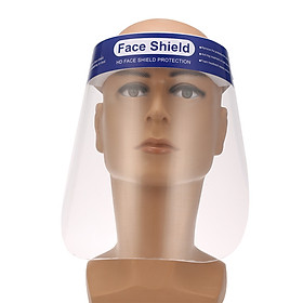 5PCS Protective Face Mask Anti-spitting Isolation Face Shield Fluid Resistant Full Face Mask Transparent Dust-proof