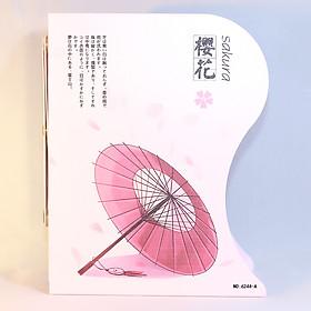 Kệ Chặn Sách Xếp - Sakura - 6244