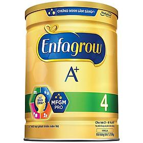 Combo 2 Lon Sữa Bột Enfagrow A+ 4 (1.7kg) - Tặng Lon Sữa Bột Enfagrow A+ 4 (830g)