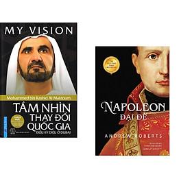 Combo 2 cuốn sách: My ViSion - Tầm Nhìn Thay Đổi Quốc Gia + Napoleon Đại Đế