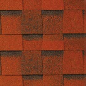 Ngói bitum đa tầng màu dark red