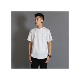 Áo Thun Nam Unisex 2 mầu Đen / Trắng basic thương hiệu Japas Cotton Ai Cập 100% cổ tròn basic cộc tay thoáng mát, thấm hút mồ hôi