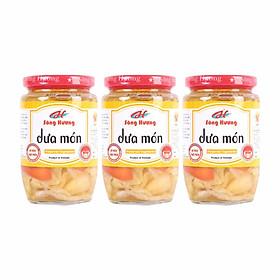 3 Hũ Dưa Món Sông Hương Foods Hũ 450g