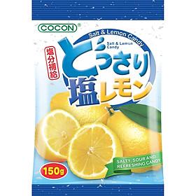 KẸO CHANH MUỐI TRUYỀN THỐNG - COCON SALT AND LEMON CANDY (Gói 150gr)