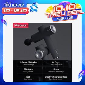 Máy Mát Xa Thông Minh Mô Sâu 3200 Vòng / Phút 5 Chế Độ Tiếng Ồn Thấp Giảm Đau Xiaomi Youpin Meavon Smart Massage Gun