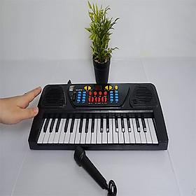 Đàn Piano Điện Tử Kèm Mic Cho Bé - Tặng Kèm Phao Tay Bơi Cho Bé