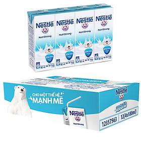 Thùng 48 Hộp Sữa Nước Có Đường Nestlé (180ml/Hộp)