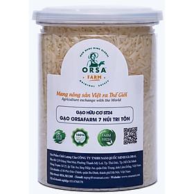 Gạo 7 Núi Tri Tôn Đặc Sản OrSaFarm – 17 Amino Acid có lợi cho cơ thể _ 500g 800g 4kg 4.5kg 5kg