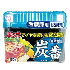 Hộp Khử Mùi Tủ Lạnh Than Hoạt Tính Kobini Nhật Bản (150g)