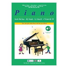 Piano Sách Bài Học – Kỹ Thuật – Lý Thuyết (Trình độ 1B)