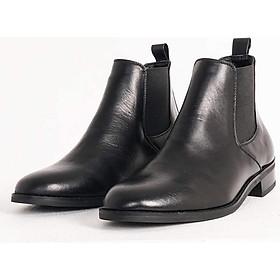 Giày Nam Chelsea Boots Tăng Chiều Cao 7cm Kín Đáo Không Lộ Chính Hãng UDANY - GCN11