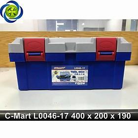 Thùng đồ nghề nhựa C-Mart L0046-17 400 x 200 x 190