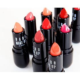 Son thỏi siêu lì nịnh môi Dabo Make Up Real RouGe Matte Hàn Quốc No.112 (Sun Shine Red) + Móc khoá-6