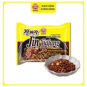 Combo 5 gói mì xốt tương đen Jin Jjajang Ramen Ottogi gói 135g
