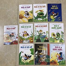 Combo 10 cuốn NHẬT KÍ THẾ GIỚI CÔN TRÙNG (tặng bookmark thước Doraemon)