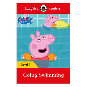 Peppa Pig Going Swimming - Ladybird Readers Level 1 (Paperback)