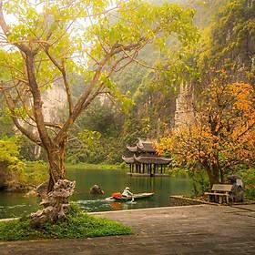 Tour Hà Nội - Bái Đính - Tràng An 01 Ngày, Gồm Bữa Trưa, Khởi Hành Hàng Ngày Từ Hà Nội