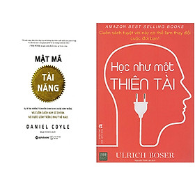Combo 2 Cuốn Sách Học Như Một Thiên Tài + Mật Mã Tài Năng