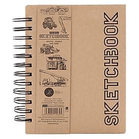 Sổ Vẽ Tay Khai Trí Stationery The Basic Sketchbook - Mẫu 2 - Mẫu Xe