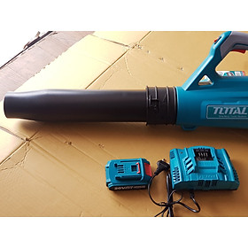 MÁY THỔI LÁ, THỔI BỤI DÙNG PIN Lithium 20V  kèm 1 pin và 1 sạc TOTAL TABLI2002TFCLI2003TFBLI2001