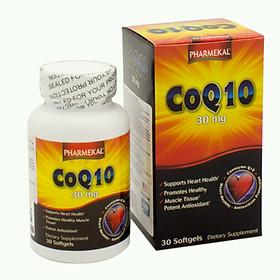 Viên Uống Hỗ Trợ Tim Mạch, Chống Lão Hóa CoQ10 Pharmekal - 30 Viên
