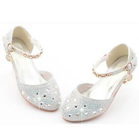 Giày bé gái cao gót kim tuyến sang chảnh cực đẹp dành cho bé 20988