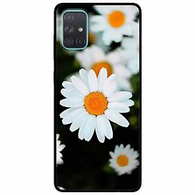 Ốp lưng dành cho Samsung A51 mẫu Cúc Trắng Mờ Ảo