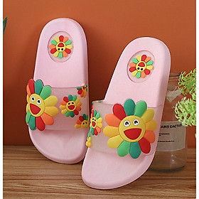 Dép lê hoa và dép đi trong nhà cho bé gái dễ thương  - D78