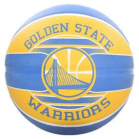 Bóng rổ Spalding NBA Team Golden State Warriors 2017 size 7 chơi ngoài trời