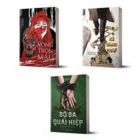Combo trinh thám cổ điển Anh trọn bộ 3 cuốn: Kẻ hành pháp, Bộ ba quái hiệp, Vòng tròn máu (tác giả: Edgar Wallace)