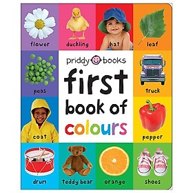 First Book Of Colours (First 100 Soft To Touch)
