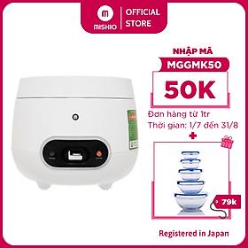 Nồi Cơm Điện Cao Cấp Mishio MK233 0.8 Lít - Hàng chính hãng