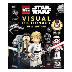 LEGO Star Wars Visual Dictionary New Edition: With exclusive Finn minifigure (Hardback)