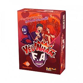 Yêu Nhầm F.A - Board game tình yêu đầu tiên mà F.A là TRÙM cuối