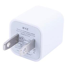 Bộ Adapter Và Cáp Sạc Cho iPhone 5, 6, 7, 8, X BYZ 5G - Hàng chính hãng