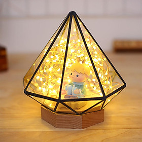 Creative Firetree Simple Bedside Lamp Romantic Present Starlight Embellhment Sky Bedroom Living Room Led Desk Lamp