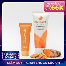 Bộ trị mụn Decumar (gồm 01 Gel trị mụn Decumar New 20g, 01 Gel rửa mặt ngừa mụn Decumar Clean 100g)