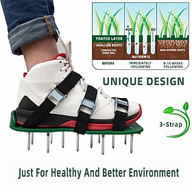Lawn spikes Lawn Aerator shoes garden nails garden tools loose soil shoes
