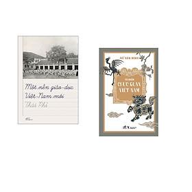 Combo 2 cuốn sách: Một nền giáo dục Việt Nam mới + Từ điển chức quan Việt Nam