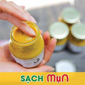 Kem gạo tinh nghệ mật ong Độc Mộc 250g - Dưỡng da trắng mịn, làm mờ thâm nám, tàn nhan