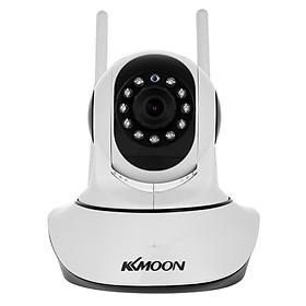 Camera Không Dây Kết Nối WiFi Điện Thoại Phát Hiện Chuyển Động Hỗ Trợ PTZ Và Thẻ Nhớ TF KKmoon (1080P) (3.6mm) (2.0MP)