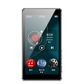 RUIZU D20 8G black 3.0 inch full screen touch mp3/mp4 full screen mp5 video player lossless music walkman to read novels learn English
