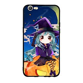 Hình đại diện sản phẩm Ốp lưng Halloween viền TPU cho điện thoại Oppo F3 Lite (A57) - Mẫu 04