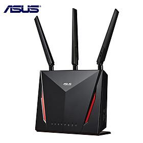 ASUS RT-AC86U AC2900 Bộ định tuyến chơi game Gigabit Wifi Gigabit với Mu-Mimo Bộ định tuyến Internet không dây thông minh Hỗ trợ Aimesh