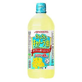 Combo 2 Chai Dầu Ăn Hoa Cải Ajinomoto (1Lít/Chai)