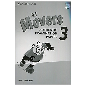 A1 Movers 3 Answer Booklet: Authentic Examination Papers