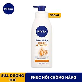 Sữa Dưỡng Thể Dưỡng Trắng Nivea Giúp Phục Hồi & Chống Nắng SPF 30 (350ml) - 88311