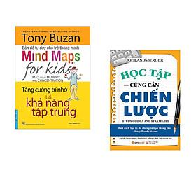 Combo 2 cuốn sách: Tony Buzan - Tăng Cường Trí Nhớ Và Khả Năng Tập Trung +  Học Tập Cũng Cần Chiến Lược