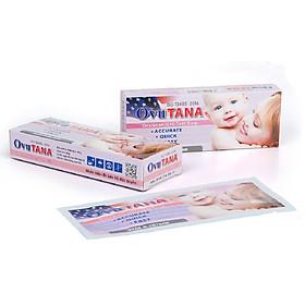 Combo 6 que thử rụng trứng Ovutana cho kết quả chính xác dễ dàng sử dụng