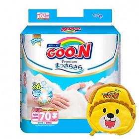 bỉm Goon Premium newboon cực đại 70 miếng tặng kèm ba lô-0